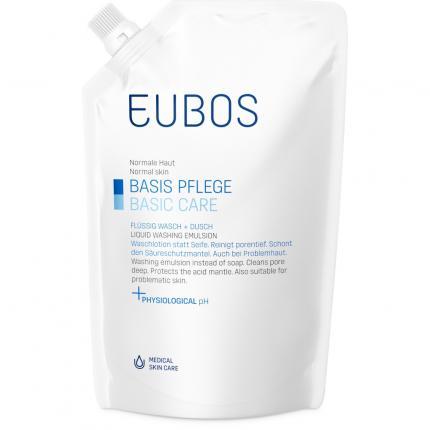 EUBOS FLÜSSIG blau Nachfüllbeutel unparfümiert