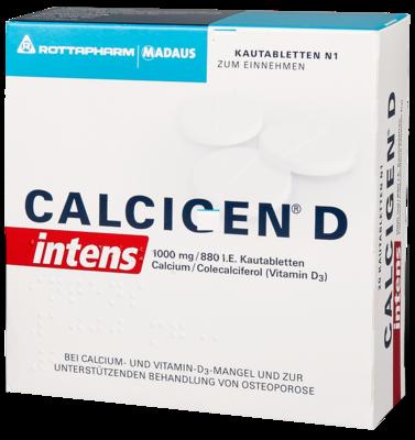 CALCIGEN D intens 1000mg/880 I.E.
