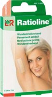 RATIOLINE sensitive Wundschnellverband 8 cmx1 m
