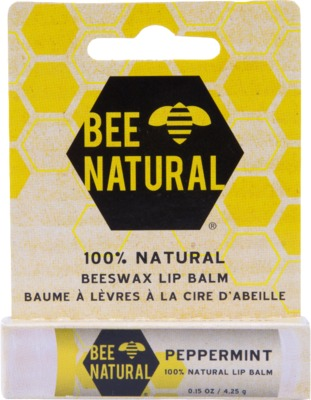 BEE Natural Lippenpflege-Stift Pfefferminz