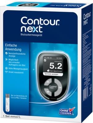 CONTOUR Next Blutzuckermessgerät Set mmol/l