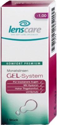LENSCARE GEL-System Monatslinse -4,50 dpt