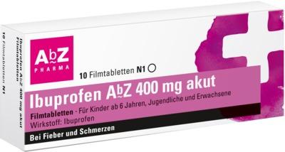 Ibuprofen AbZ 400mg akut