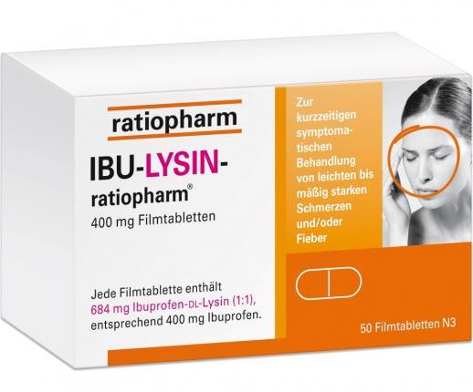 IBU-LYSIN-ratiopharm 400mg