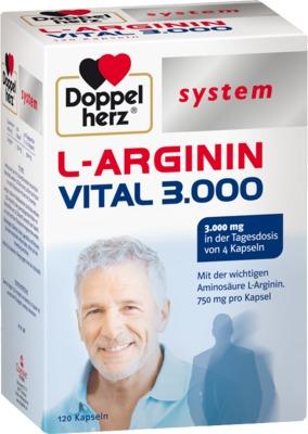 Doppelherz system L-ARGININ VITAL 3000