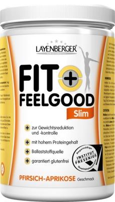 LAYENBERGER FIT+ FEELGOOD Slim PFIRSICH-APRIKOSE Geschmack