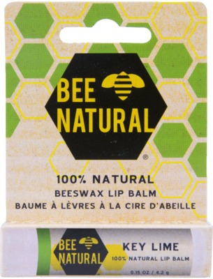 BEE Natural Lippenpflege-Stift Key Lime