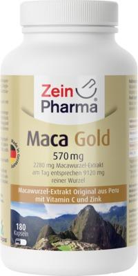 MACA Gold vegetarische Kapseln plus Zink+Vit.C