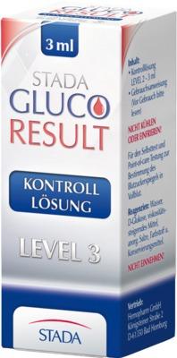 STADA Gluco Result Kontrolllösung Level 3
