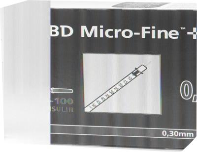 BD MICRO-FINE+ Insulinspritze 0,5 ml U100 8 mm
