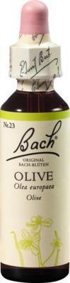 BACHBLÜTEN Olive Tropfen