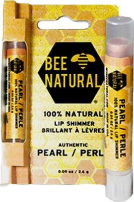 BEE Natural Lippenpflege-Stift Shimmer Perle