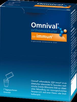 OMNIVAL orthomolekul.2OH immun 7 TP Granulat