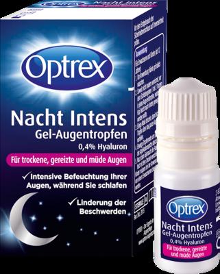 OPTREX Nacht Intens Gel-Augentropen 0,4% Hyaluron