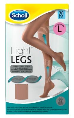 SCHOLL Light LEGS Strumpfhose 20den L nude
