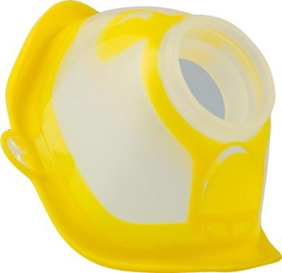 MICRODROP RF7 Maske Kind gelb transparent