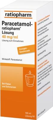 Paracetamol-ratiopharm 40mg/ml Lösung zum Einnehmen