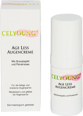 CELYOUNG age less Augencreme Granatapfel