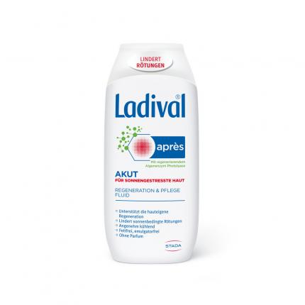 LADIVAL Apres Pflege Akut Beruhigungs-Fluid