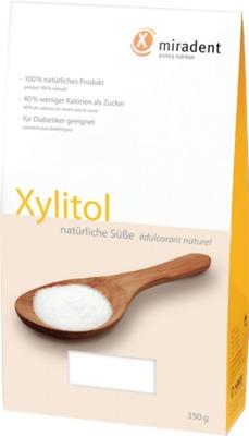 MIRADENT Zuckerersatz Xylitol Pulver