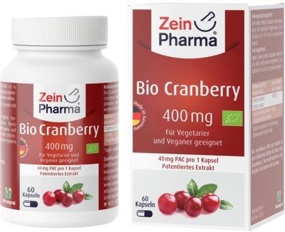 BIO CRANBERRY Vegi Kapseln 400 mg