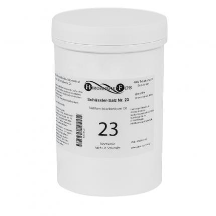 HOMOEOPATHIEFUCHS Schüssler-Salz Nummer 23 Natrium Bicarbonicum D6 Biochemie