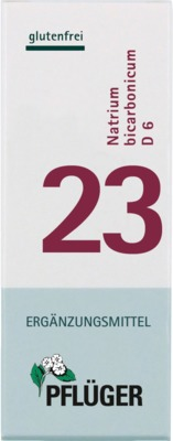 BIOCHEMIE Pflüger 23 Natrium bicarbonicum D 6 Tabletten