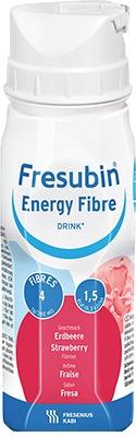 FRESUBIN ENERGY Fibre DRINK Erdbeere Trinkflasche