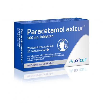 Paracetamol axicur 500mg