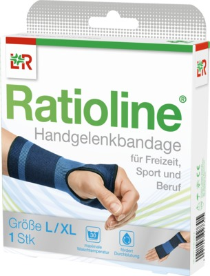Ratioline Handgelenkbandage Größe L/XL