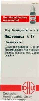 NUX VOMICA C 12 Globuli