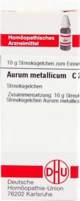 AURUM METALLICUM C 200 Globuli