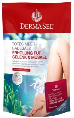 DERMASEL Totes Meer Badesalz+Gelenk&Muskel