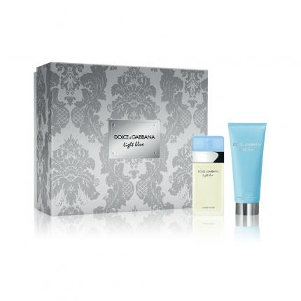 Dolce&Gabbana Light Blue Damen Set Inhalt: EDT Spray 25ml + Body Cream 50ml