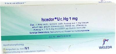 ISCADOR U c.Hg 1 mg Injektionslösung