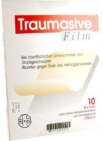 TRAUMASIVE Film 10x10cm Hydrokolloid-Verband
