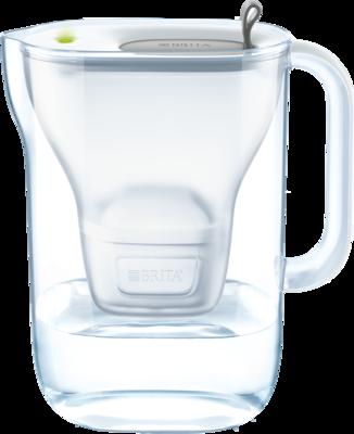 BRITA fill & enjoy Wasserfilter Style grey