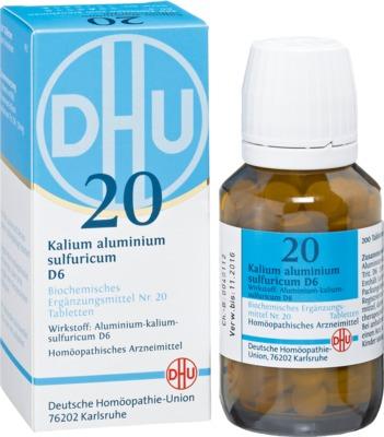 Biochemie DHU 20 Kalium aluminium sulfuricum D6 Tabletten