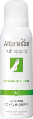 Allpresan Fuß spezial Original Schaum-Creme Nr. 6 Strapazierte Haut