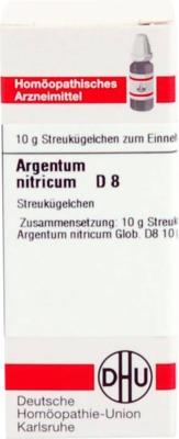 ARGENTUM NITRICUM D 8 Globuli