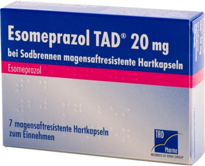 Esomeprazol TAD 20mg bei Sodbrennen