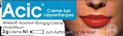 Acic bei Lippenherpes
