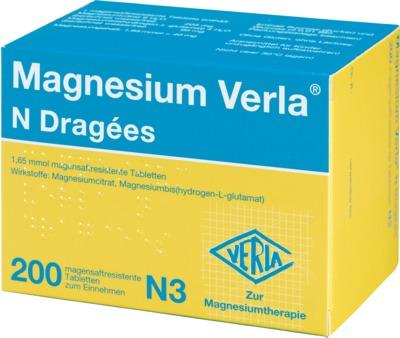 Magnesium Verla N Dragées