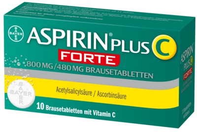 Aspirin plus C Forte 800mg/480mg