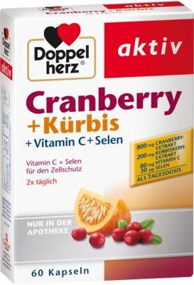 DOPPELHERZ Cranberry+Kürbis Kapseln