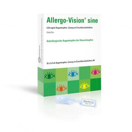 Allergo-Vision sine 0,25mg/ml Augentropfen