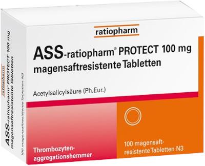 ASS-ratiopharm PROTECT 100mg magensaftresistent