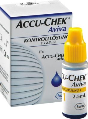 ACCU CHEK Aviva Kontrolllösung