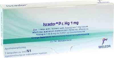 ISCADOR P c.Hg 1 mg Injektionslösung