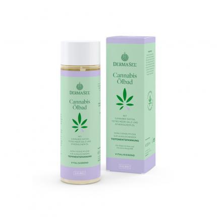 DERMASEL Cannabis Ölbad Tiefenentspannung Salbei